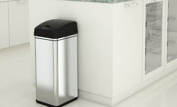 Touchless Trash Cans to Make Getting Rid of Garbage Easier and Cleaner