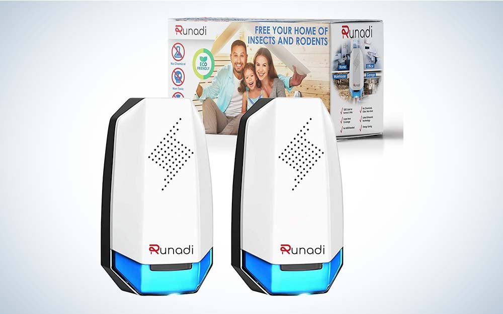 The Runadi Ultrasonic Pest Repellent is the best overall choice.