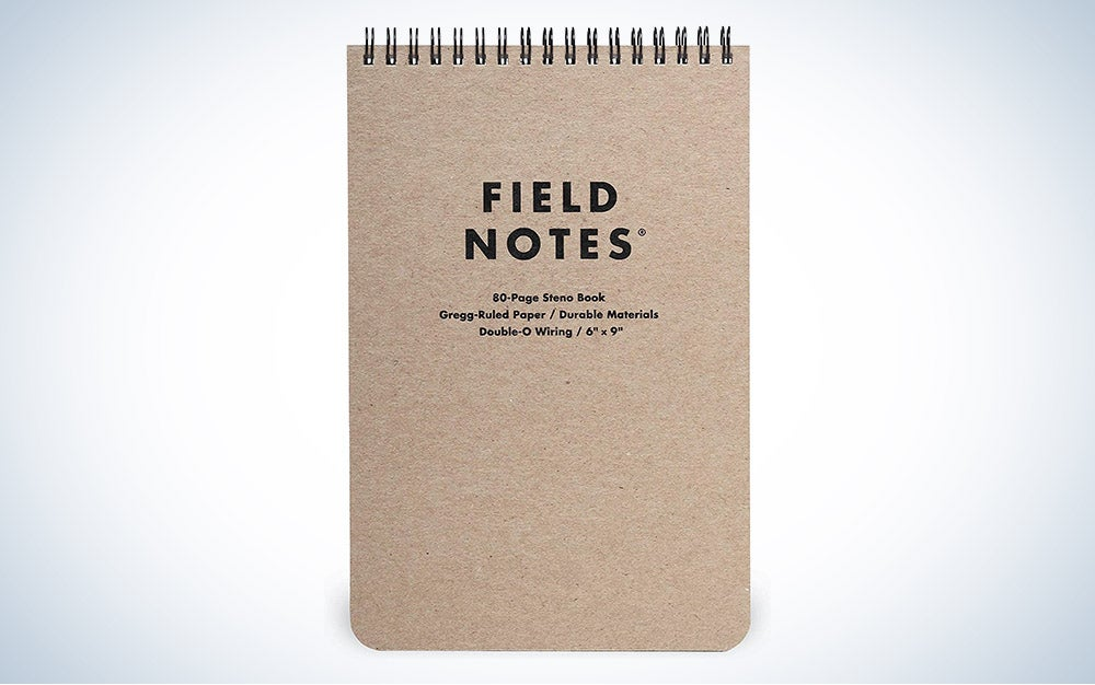 The Field Notes Steno Pad is the best writing pad overall.