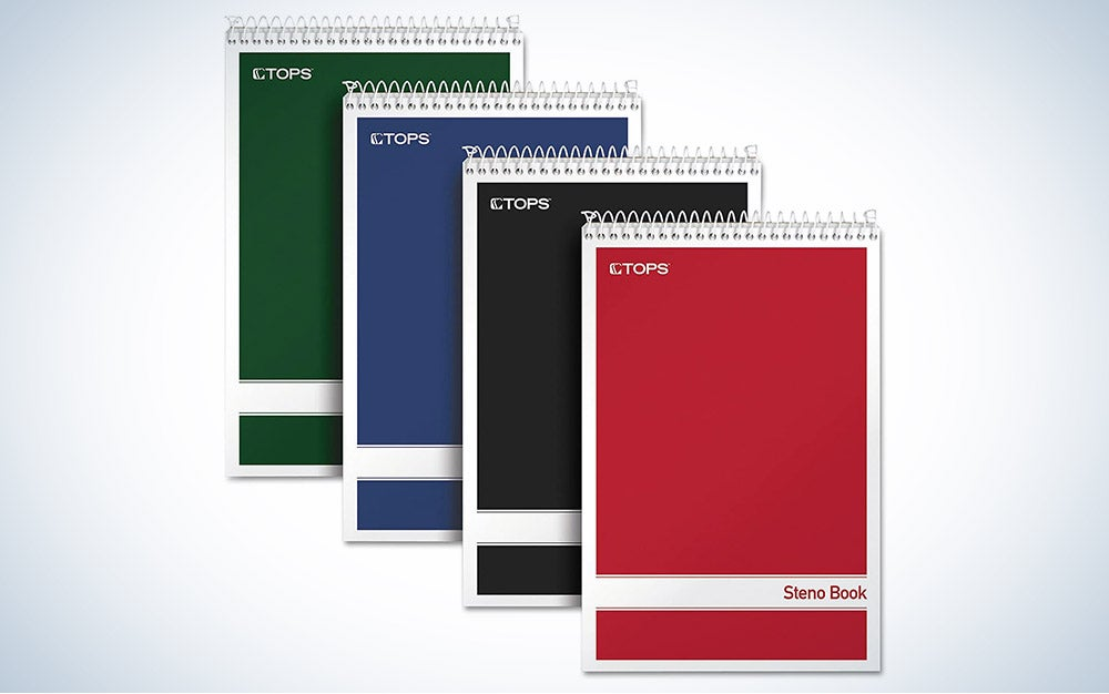 The TOPS Spiral Writing Pads are the best value.