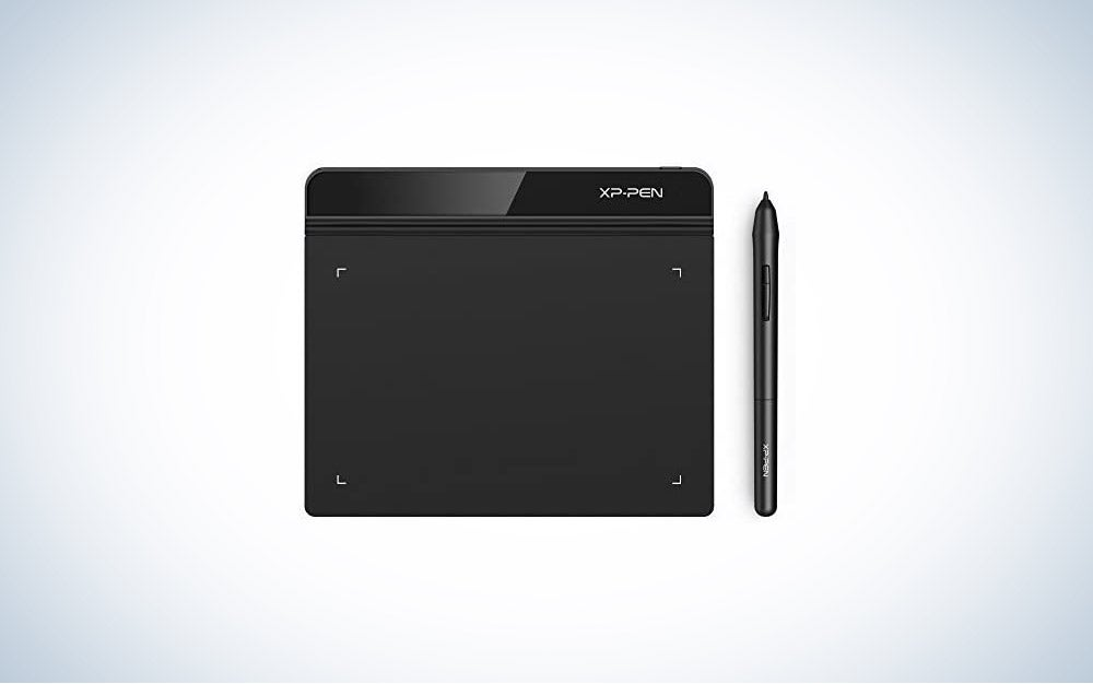 The XP-PEN StarG640 drawing tablet is the best writing pad that's digital.