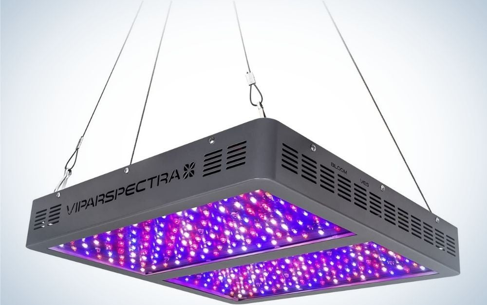 The VIPARSPECTRA 1200W LED Grow Light is the best traditional.