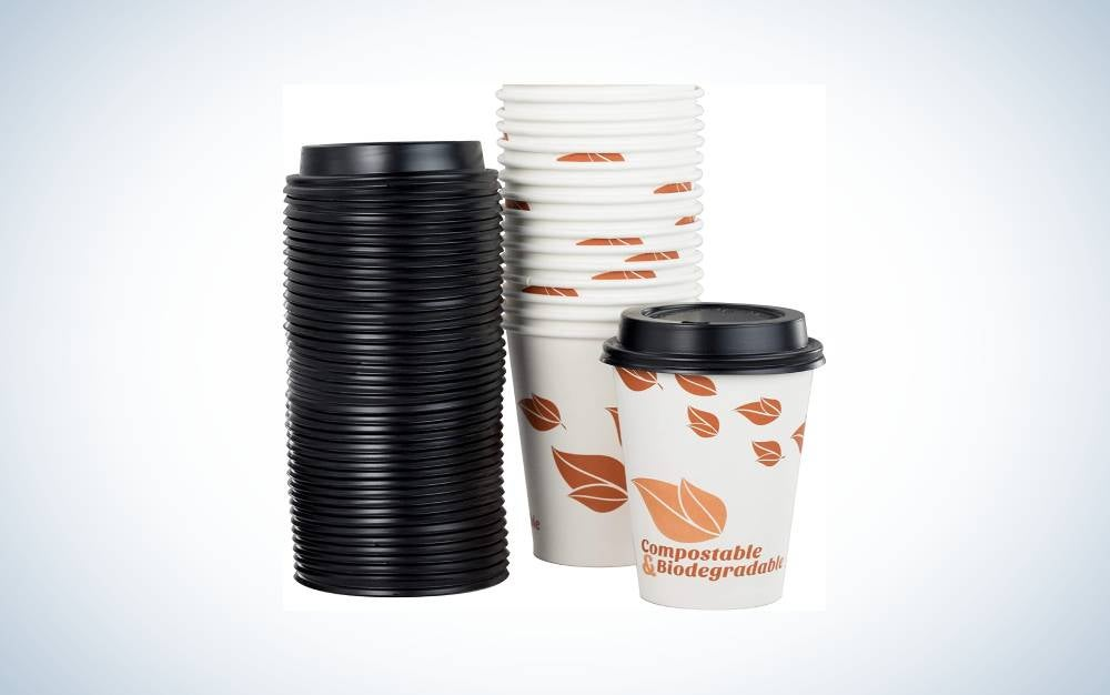 The Avant Grub Paper Coffee Cups And Dome Lids are Best with Lids