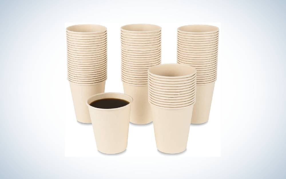 The JAYEEY Disposable Bamboo Paper Cups are Best for Hot Drinks