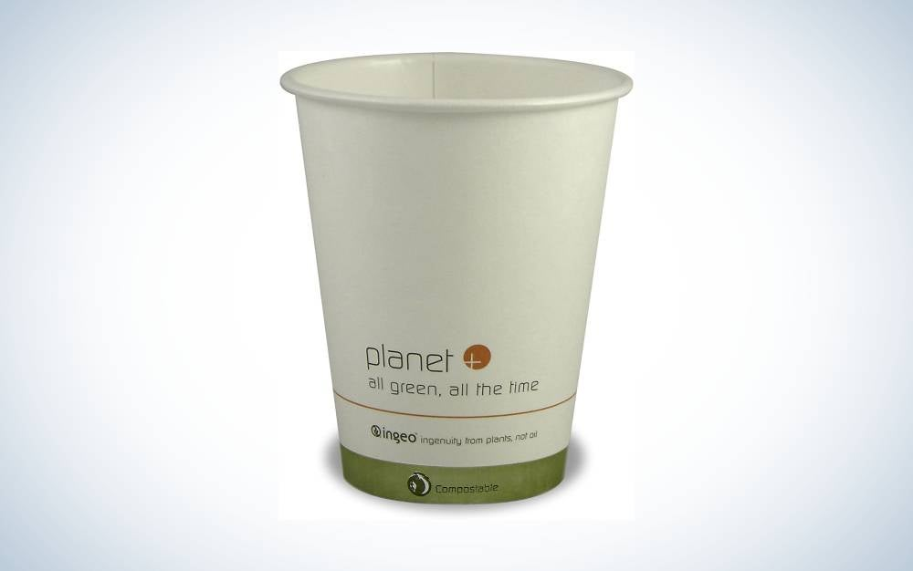 The Planet+ 100% Compostable PLA Laminated Hot Cup is Best Bulk Buy