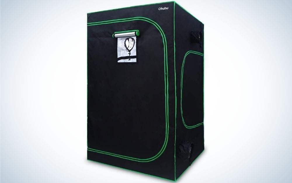 The Ohuhu Mylar Hydroponic Grow Tent is the best overall.