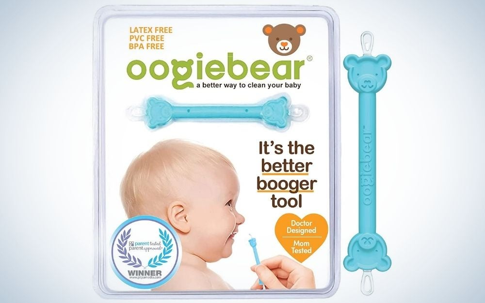 The oogiebear Nasal Booger and Ear Cleaner is the best for babies.
