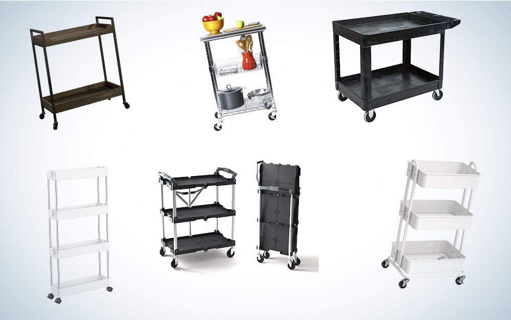 These are our picks for the best utility carts.