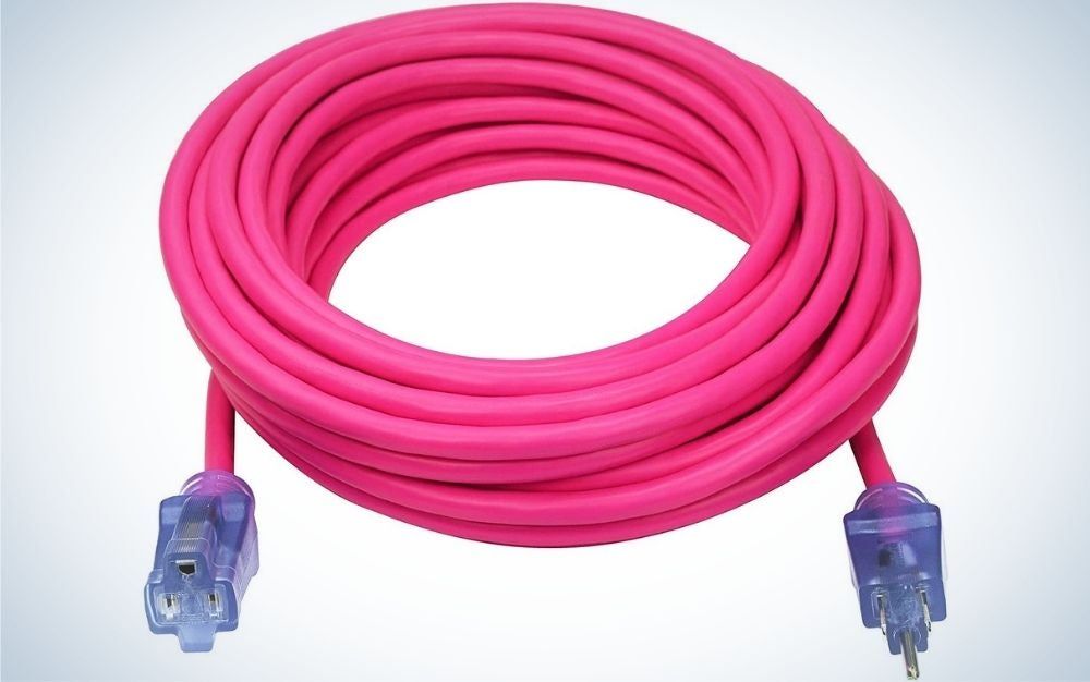 The Clear Power 50 ft heavy Duty Outdoor Extension Cord is the best overall.