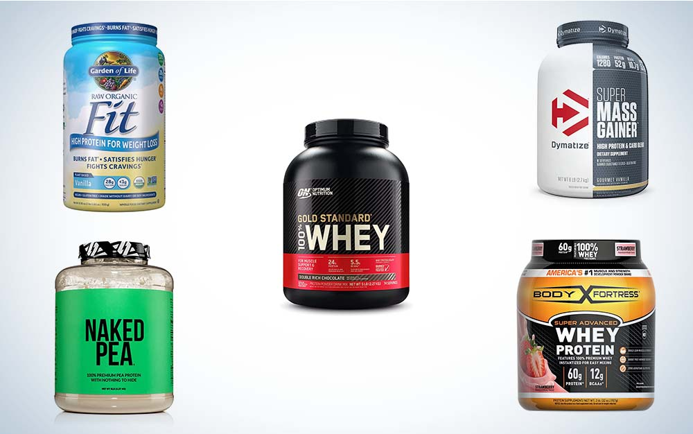 The best protein powders to build and maintain muscle.
