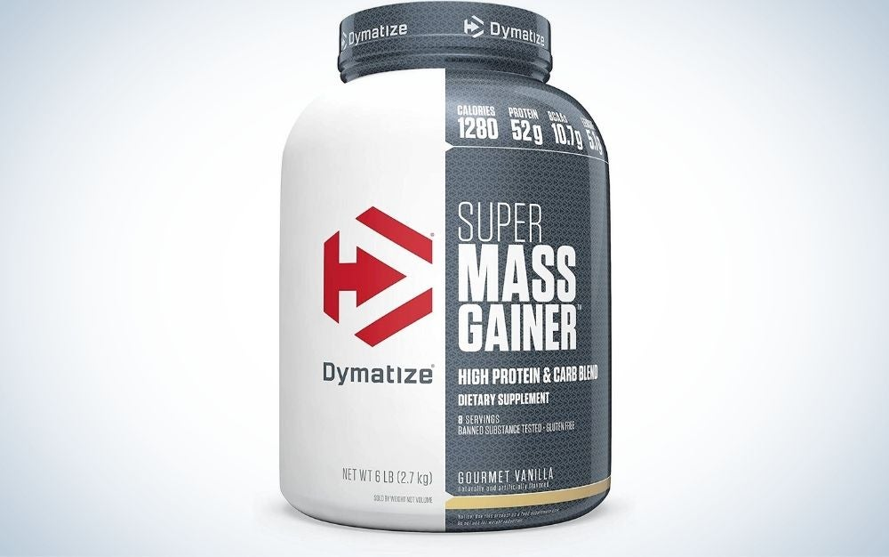 Dymatize Super Mass Gainer Protein Powder is best for building muscle mass.