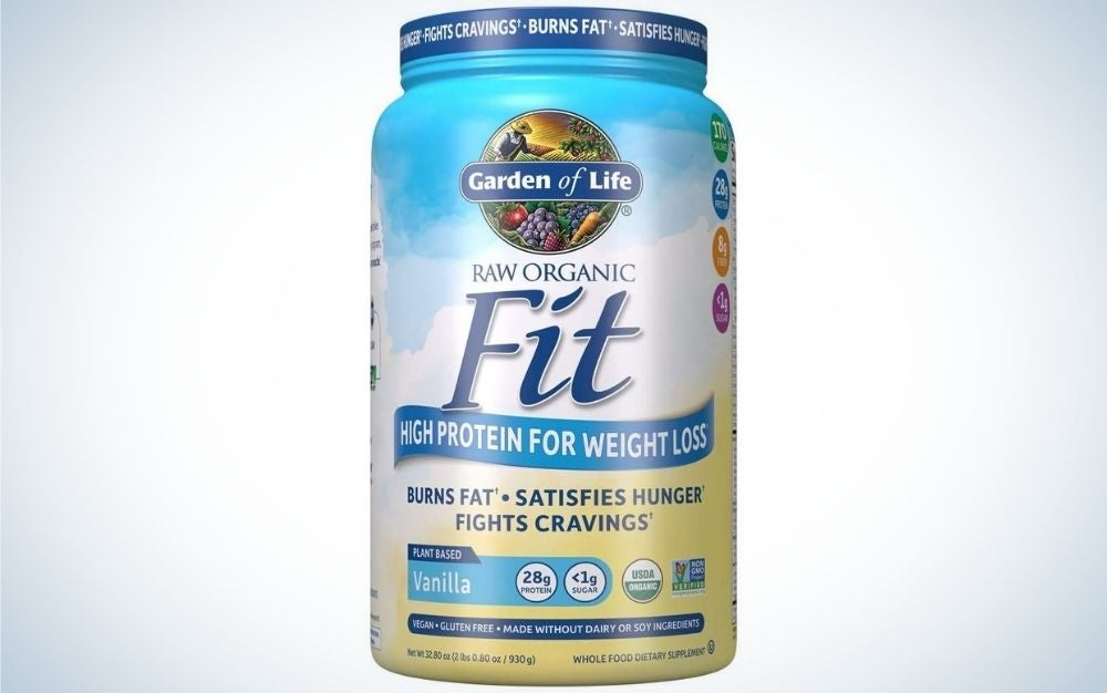Garden of Life Raw Organic Fit Powder is the best for weight loss.