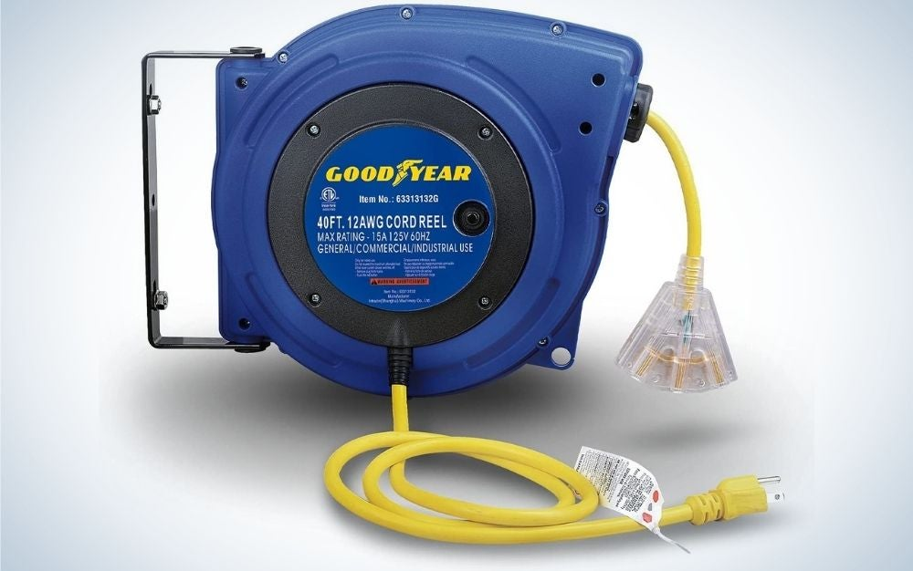 The Goodyear Extension Cord Reel is a best design.