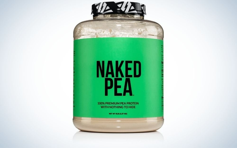 Naked Pea Protein Powder is best for vegans.
