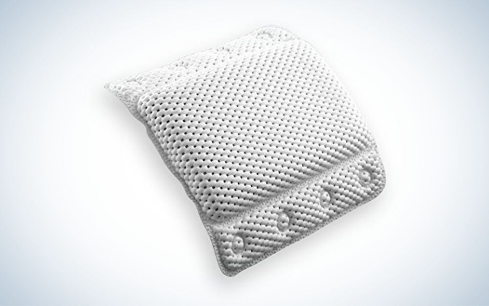 The BINO Non-Slip Cushioned Bath Pillow is the best value.