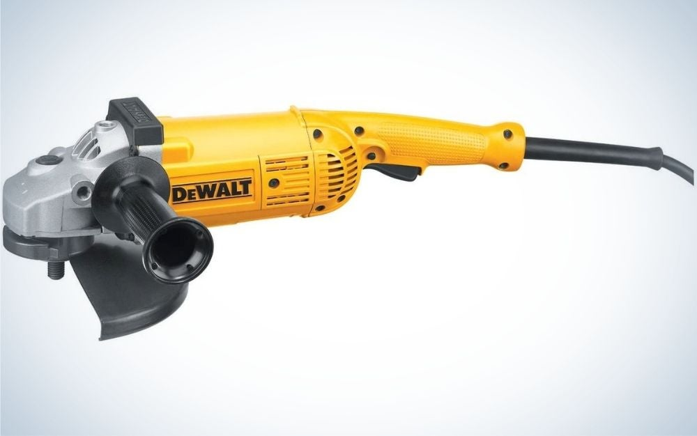 """The DeWalt 7""""/9"""" Angle Grinder is best for heavy duty jobs."""