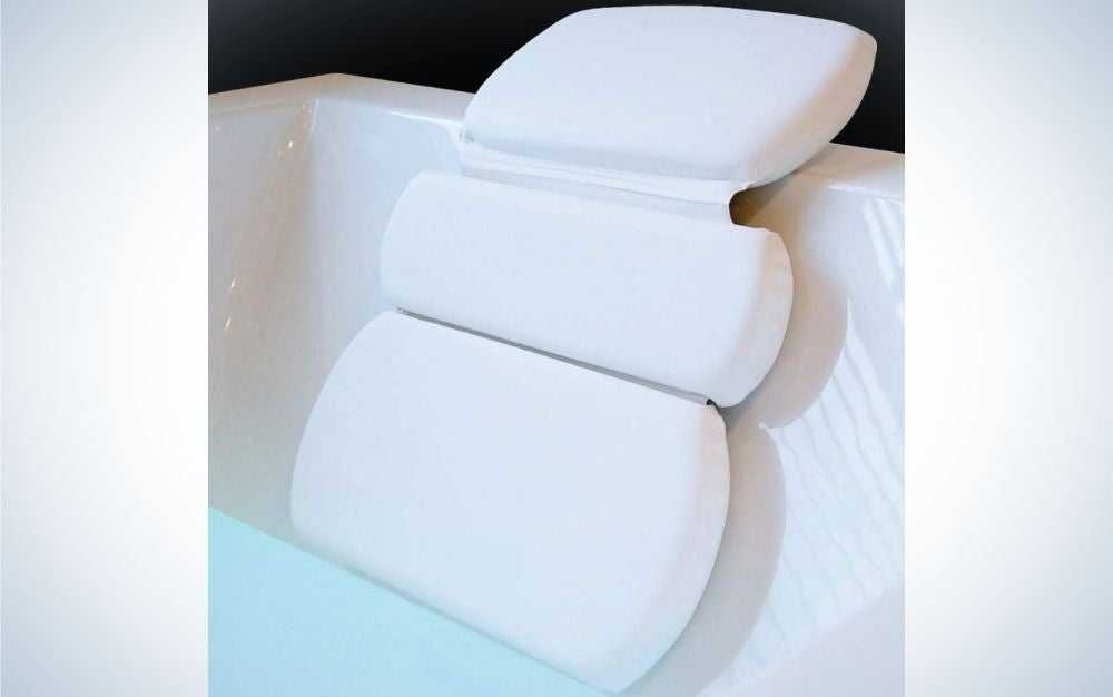 The Gorilla Grip Spa Bath Pillow is the best overall.