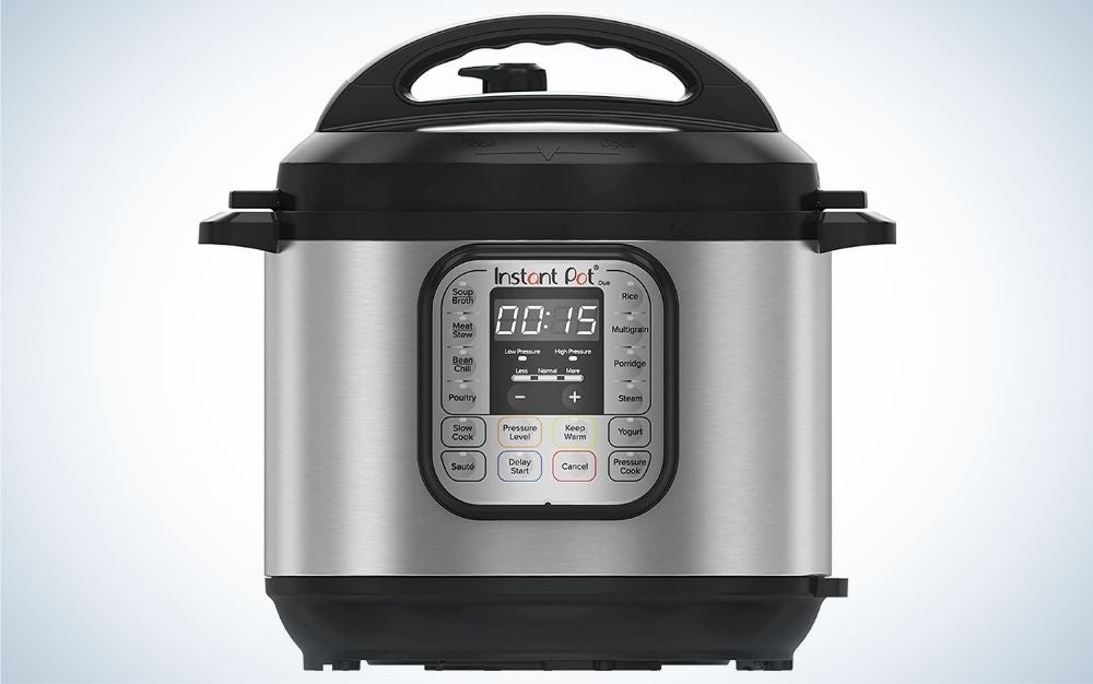 The Instant Pot Duo 7-in-1 Electric Pressure Cook is the best value.