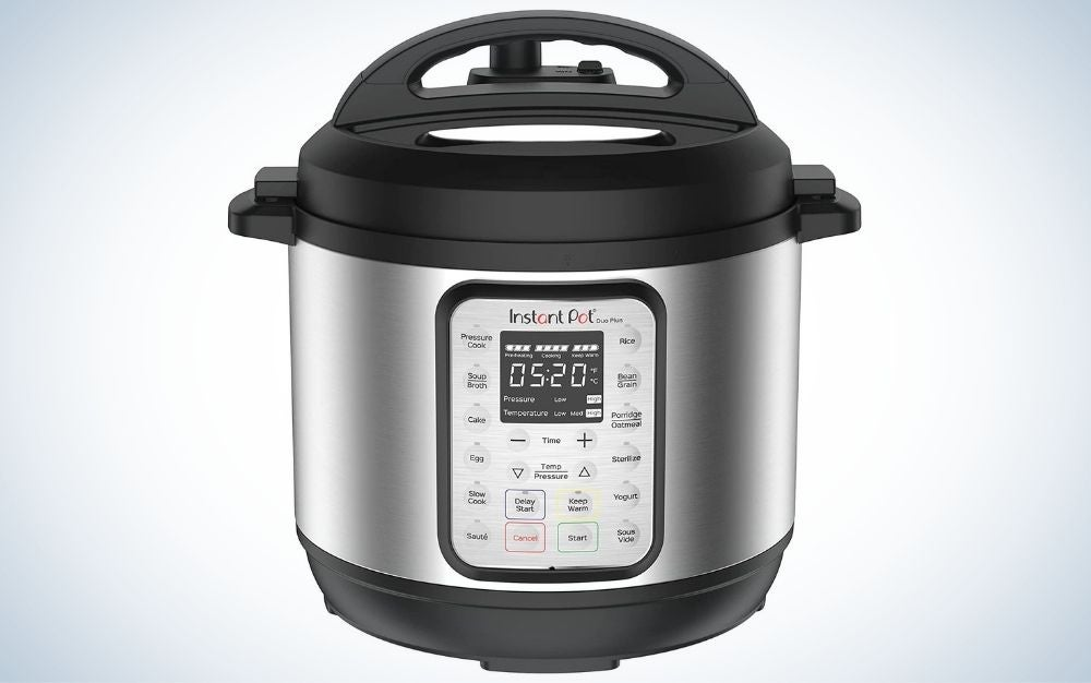 The Instant Pot Duo Plus 9-in-1 Electric Pressure Cooker is the best overall.