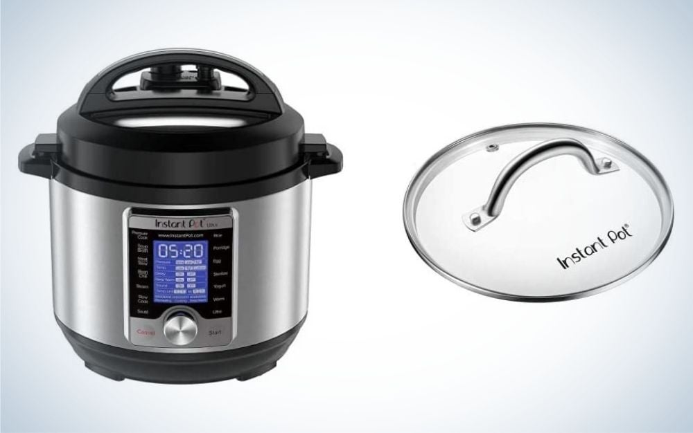 The Instant Pot Ultra Three-Quart 10-in-1 Multi-Use Programmable Pressure Cooker is the best for small spaces.