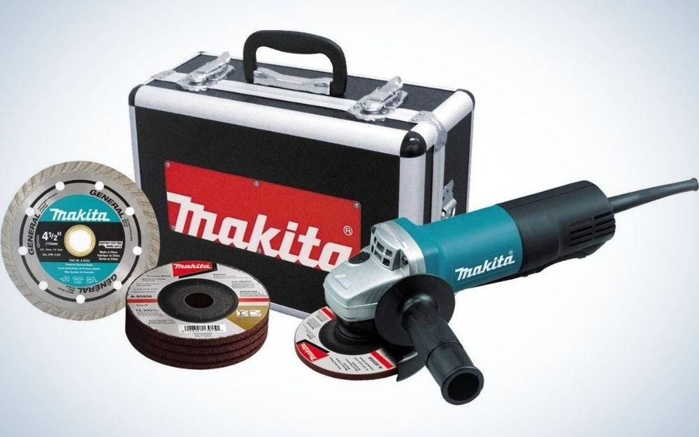 """The Makita 4-1/2"""" Angle Grinder is the best model for hobbyists"""