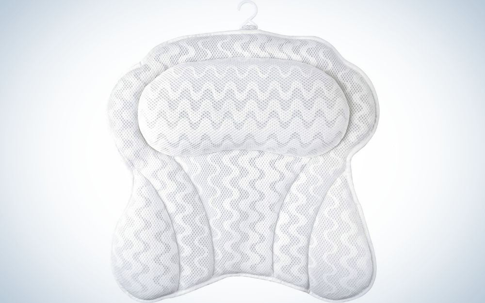 The Sierra Concepts Bath Pillow is the easiest bath pillow to clean.