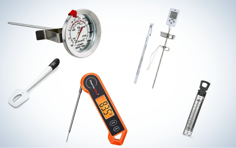 These are our picks for the best candy thermometers on Amazon.