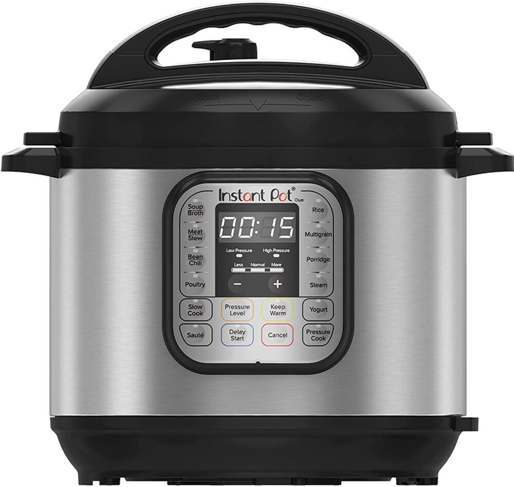 The Instant Pot Duo Mini is the best overall mini instant pot.