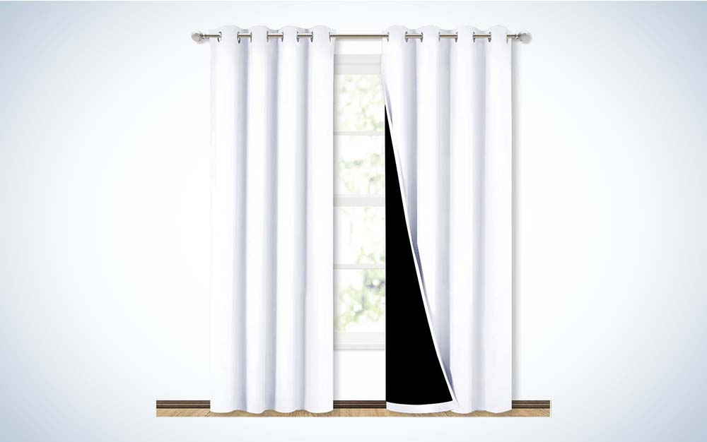 Nicetown 100% Blackout Window Curtains are the best overall.