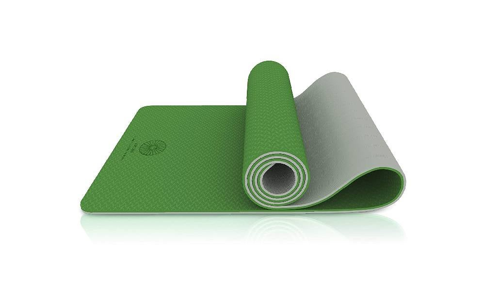 The Vayure Extra Thick Yoga Mat is the best outdoor exercise mat