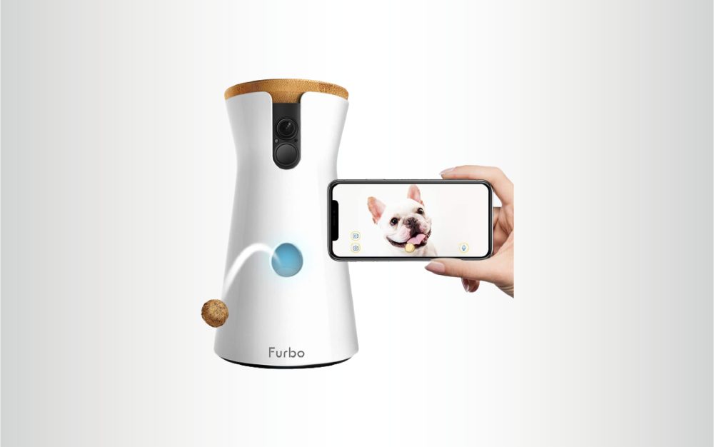 The Furbo Dog Camera is best for tossing treats.