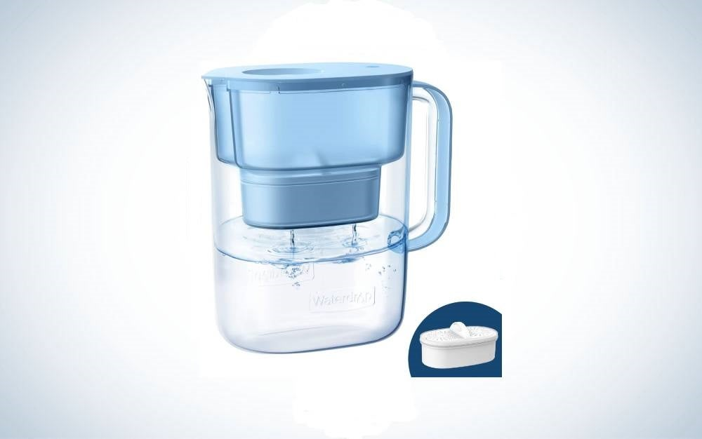 The Waterdrop 10-Cup Water Filter Pitcher is the best overall