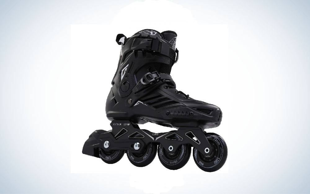 LIKU Black Professional Inline Skates are the best for advanced skaters.