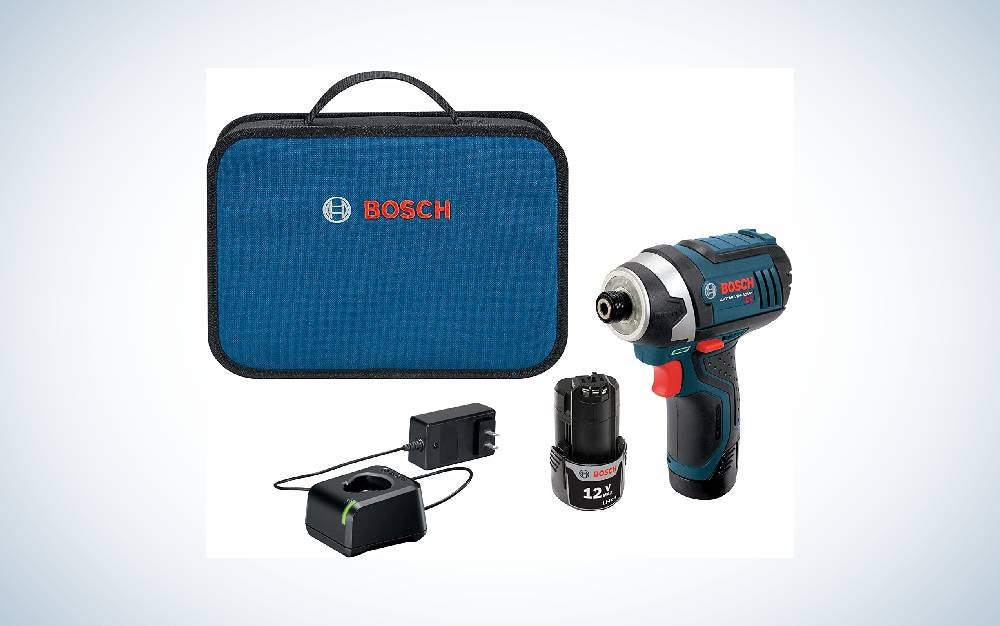 Bosch Max ¼-Inch Hex is the best compact driver.