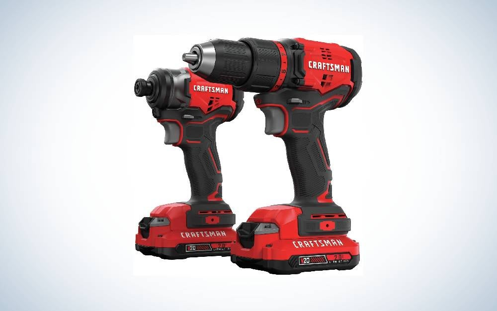 Craftsman is the best Cordless Drill Combo.