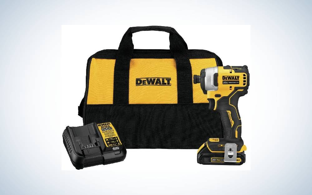 The Dewalt Atomic 20V MAX Impact Driver Kit is the best value.