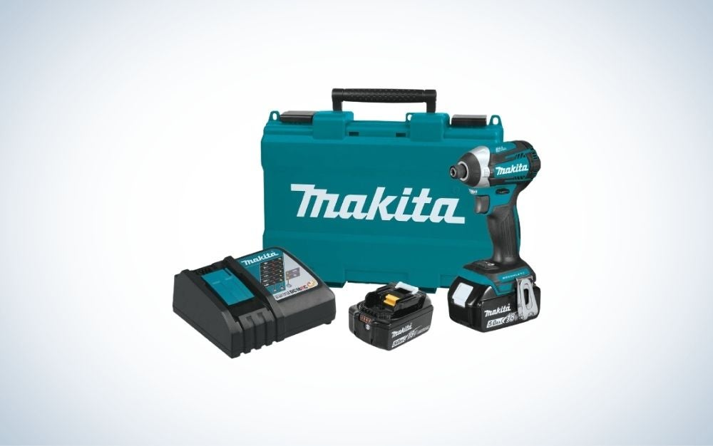 The Makita LXT 4-Speed Impact Drive Kit is the best pro level impact driver.