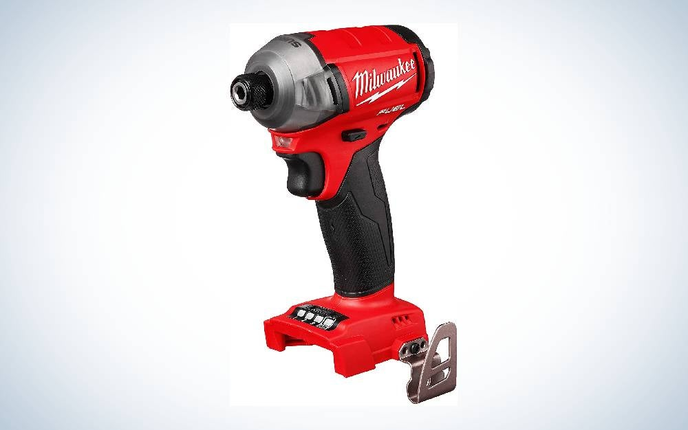 The Milwaukee M18 Fuel Hex Hydraulic Driver is the best overall impact driver.