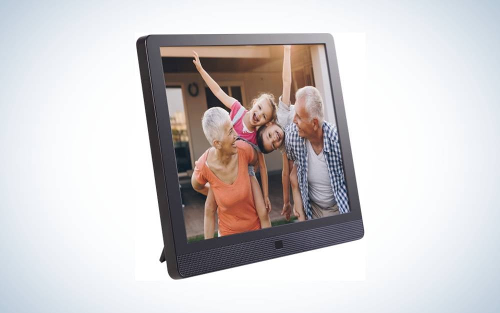 The Pix-Star Digital Photo Frame is the best large size.
