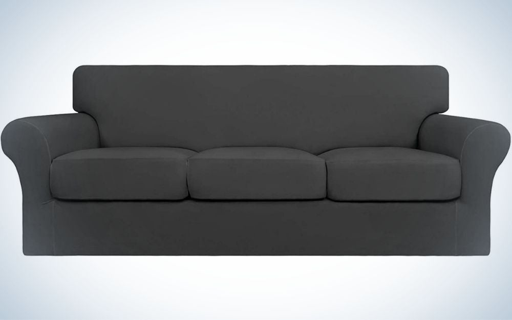 Easy-Going 4 Pieces Stretch Soft Couch Cover is best overall.