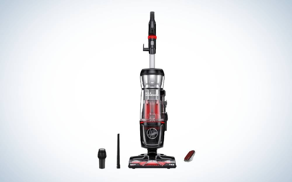 The Hoover MAXLife Pro Pet Swivel Bagless Upright Vacuum Cleaner is the best for pets.