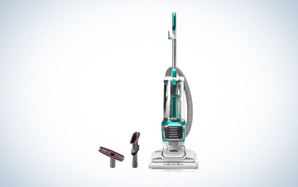 The Kenmore DU2012 Bagless Upright Vacuum is the best value.