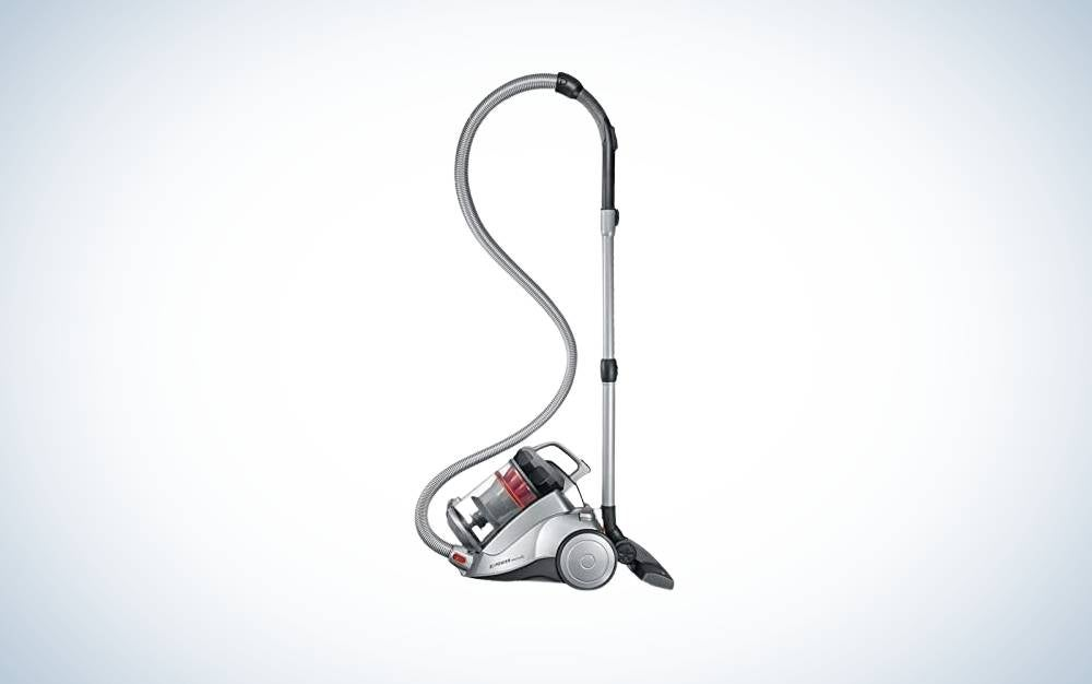 The Severin Germany Nonstop Corded Bagless Canister Vacuum is the best canister.