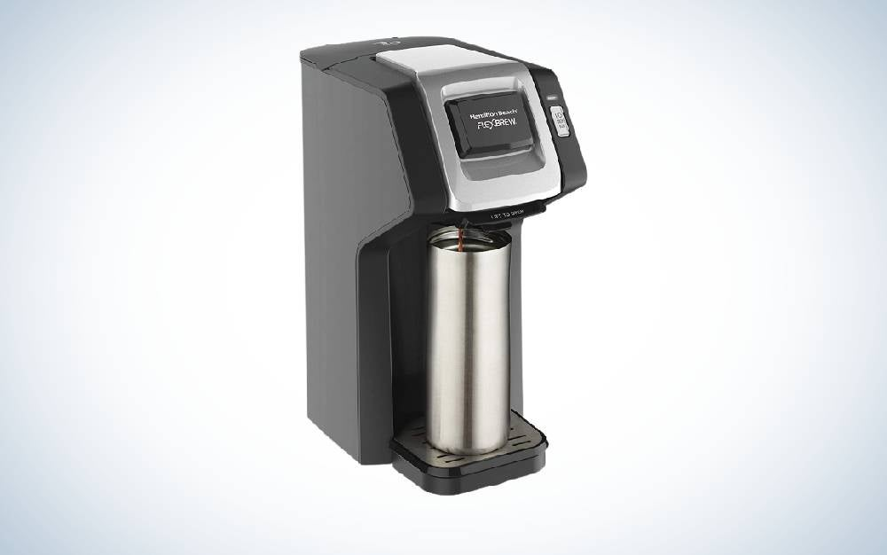 The Hamilton Beach FlexBrew Coffee Maker is the best single-serve coffee maker for value.