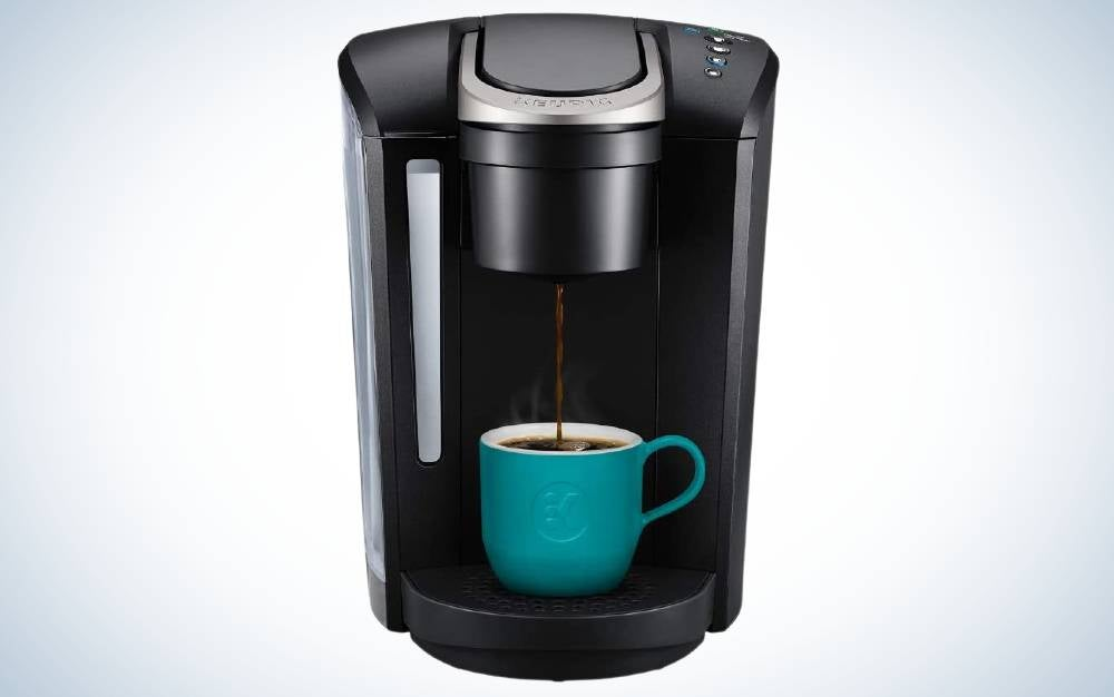 The Keurig K-Select Coffee Maker is the best single-serve coffee maker overall.