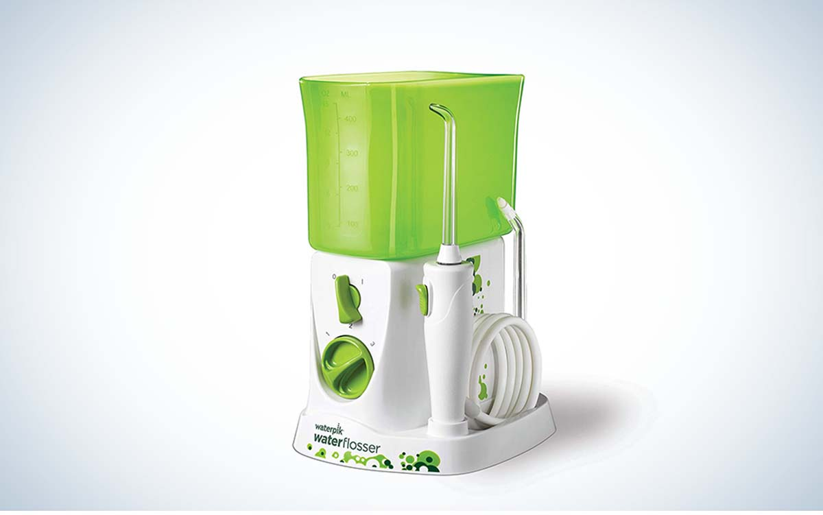 The Waterpik Water Flosser for Kids is the best for kids.