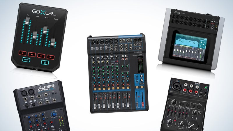 Best Audio Mixers of 2021: Dial in Your Perfect Sound