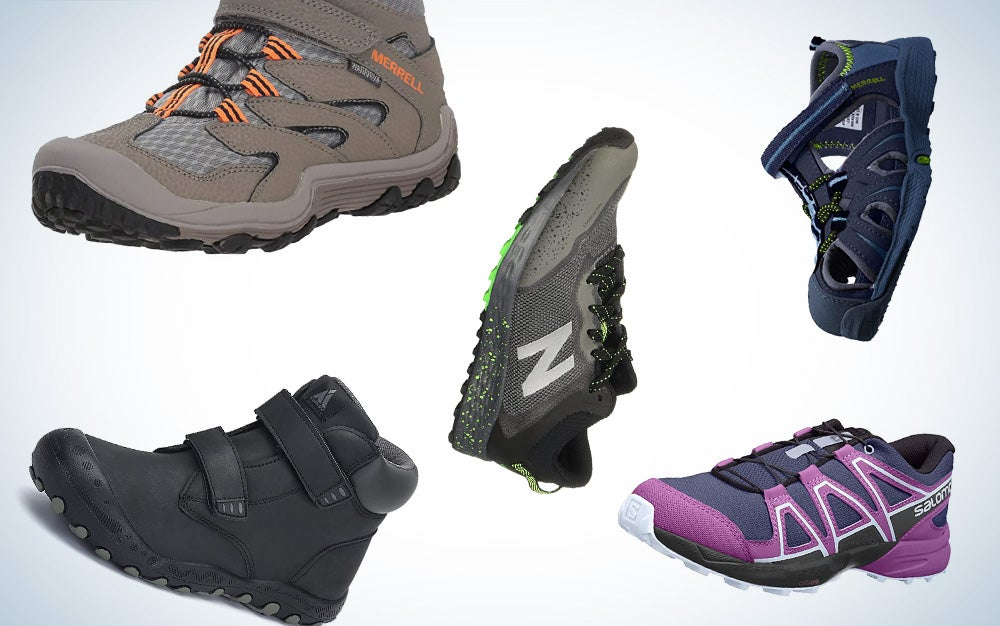 best kids hiking shoes