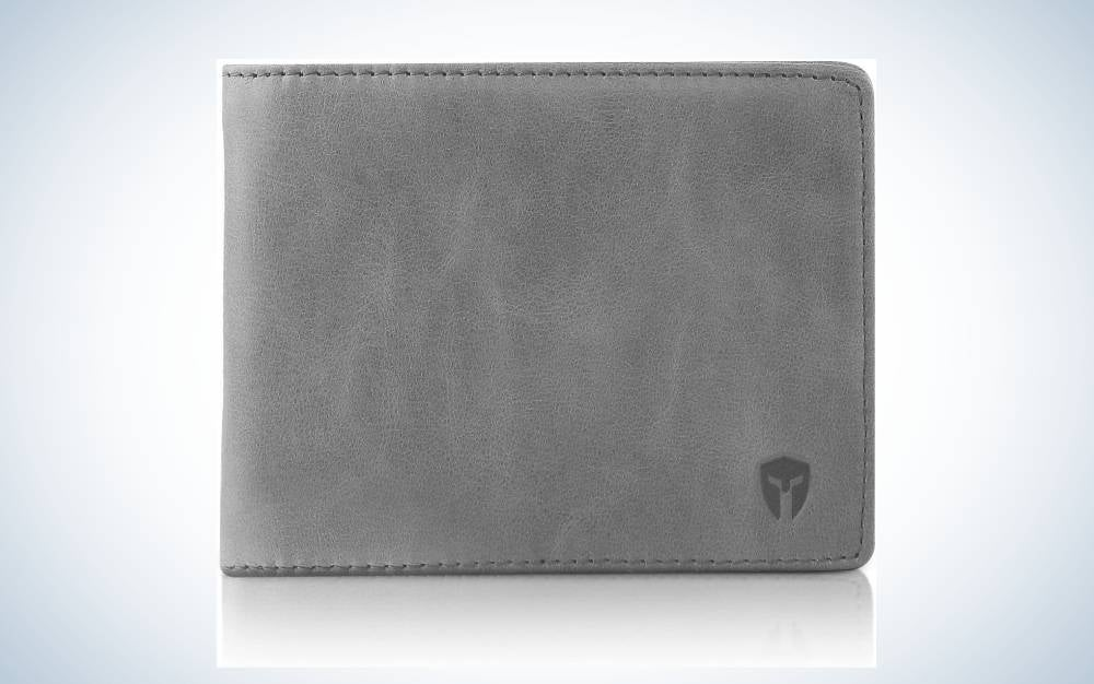 The Bryker Hyde 2 ID Window RFID Wallet is the best overall.