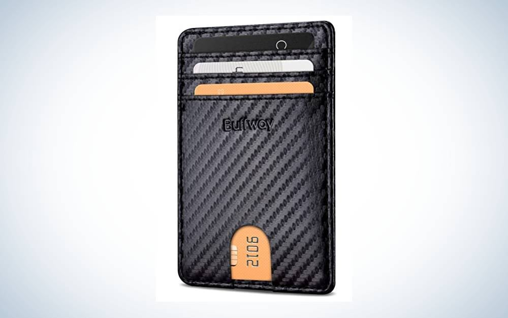 The Buffway Mens Slim Wallet is the best value.
